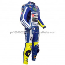 VR 46 Yamah Movi star 2014 motogp Motorcycle Leather Racing Suit, one piece and two piece motorbike racing suit Auto Moto suit