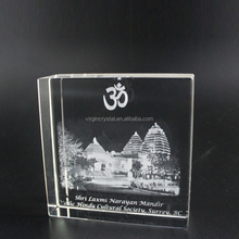Beautiful crystal ship model for wholesale