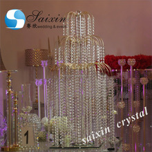 Bling crystal centerpiece for wedding table decoration ZT-320