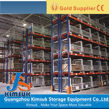 Steel cage storage pallet rack supplier pallet racking for warehouse