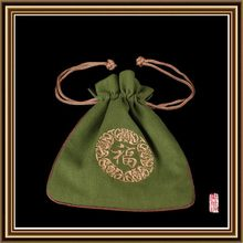 New style new arrival durable drawstring pouch small jute pouch