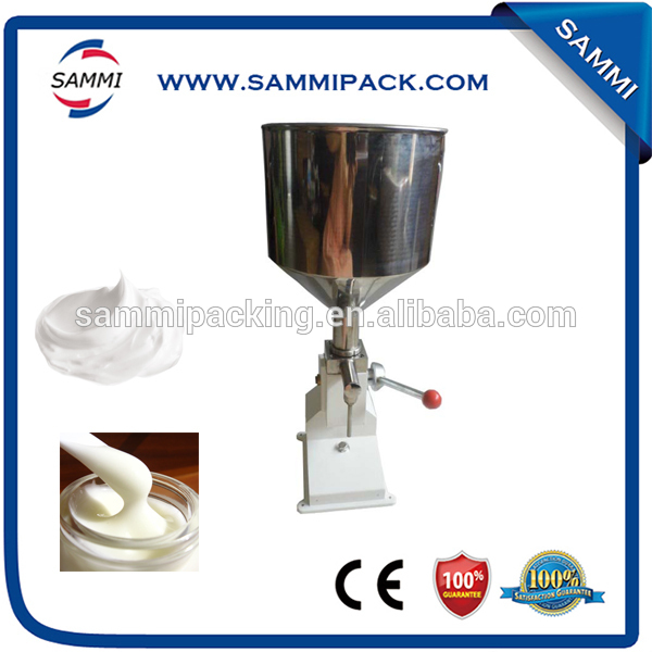 Hot Sale A03 Manual filling machine for cream,shampoo, cosmetic, bakery cream filling machine