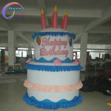 advertising inflatable replica birthday cake