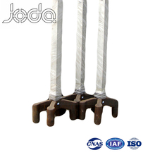 Parallel Three Claws Triple 6 Stubs Steel Prebaked Anode Yoke Products Made Mold Sand Casting