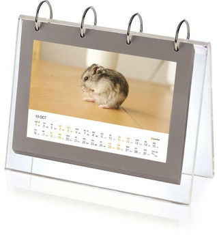 2014 new customised acrylic desktop calendar