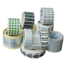 Colors Thermal Transfer Stickers Adhesive Barcode Label For Label Printer