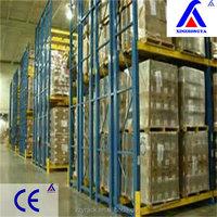 CE certification vertical storage solution pallet motor carton pvc storage shelving