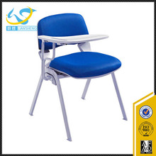 Furniture school chairs with writing tablet college chair,student furniture school chair with writing board