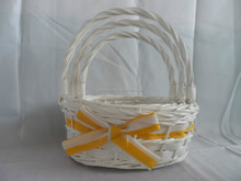 white&pink decoration basket