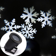 Outdoor LED Snowflake Laser Projector Christmas Light
