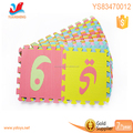 Education soft foam eva children kids play mat Arabic alphabet puzzle puzzle mat