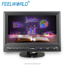 8 inch lcd tv portable with hdmi vga av dvi and touchscreen for car and computer