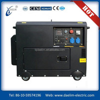 Small silent portable diesel generator set 3kw
