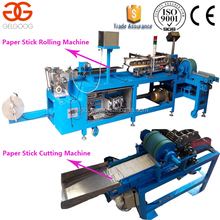 Automatic lollipop paper stick extruding machine