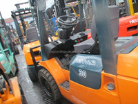 second hand toyota 3 Ton forklift/ used forklift