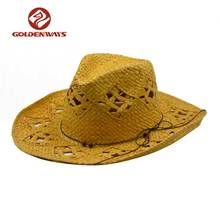 Selling well string decoration hiking paper cowboy hat