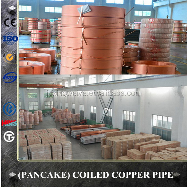 Tianjin factory-032 tp2 copper pipe and copper pipe roll/copper pipe coil