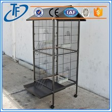 ISO9001 the iron square tube dog cage and fast supplier dog cage with wheels
