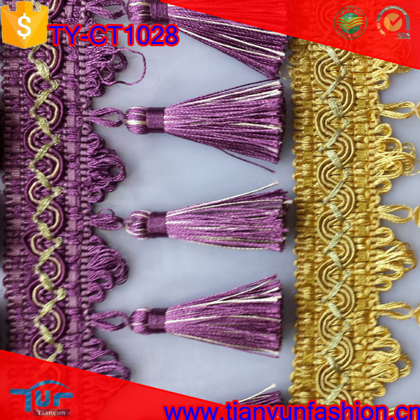 newest handmade cheapest wholesale curtain tassels for curtains