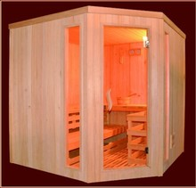 Home Relaxation Sauna & Steam Rooms turning to old & traditional methods