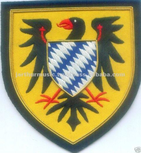 Medieval Knight Holy Roman Empire Arms Patch