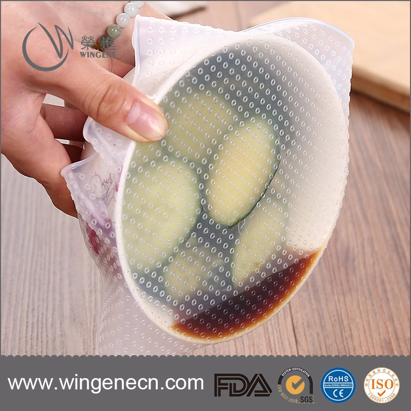 Eco-friendly Silicone Food Fresh-Keeping Preservative Film/Silicone Food Cling Film