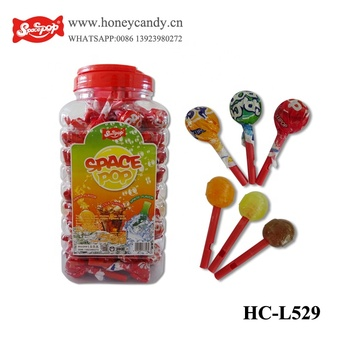 Cola Flavor Whistle Lollipop Candy
