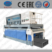 Prefab beton. Holle kern plaat making machine.
