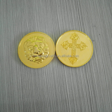 Professional Custom made plastic cheap antique fake gold coin