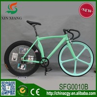 Strong 700c road bike from china, single speed aluminium alloy frame fixed gear bike