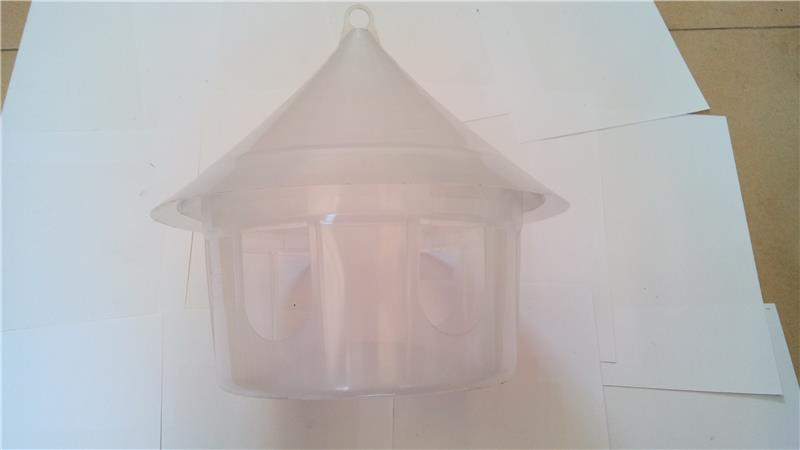 round bird cage pigeon ring collector friction feeder