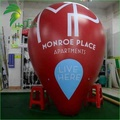 Giant Outdoor Advertising Display Inflatable Floating Helium Taper Cone Model Balloon