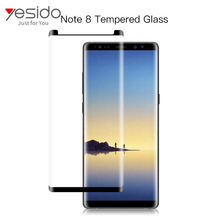 New 9H tempered glass screen protector for Galaxy Note 8