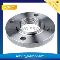 Standard and Non-standard Stainless Steel Forged Threaded Flange from china (YZF-Y155)