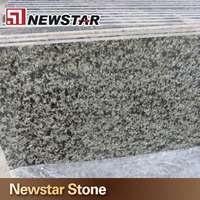 Fumigated Wooden Crates Packing Natural Stone Light Green Granite Countertops