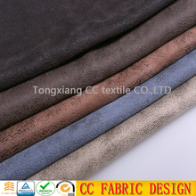 100% polyester faux leather fabric /bonded leather fabric/embossed leather fabric