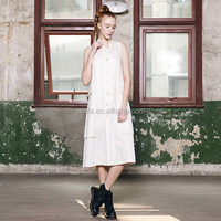 Popular new coming smart ladies simple fashion dress