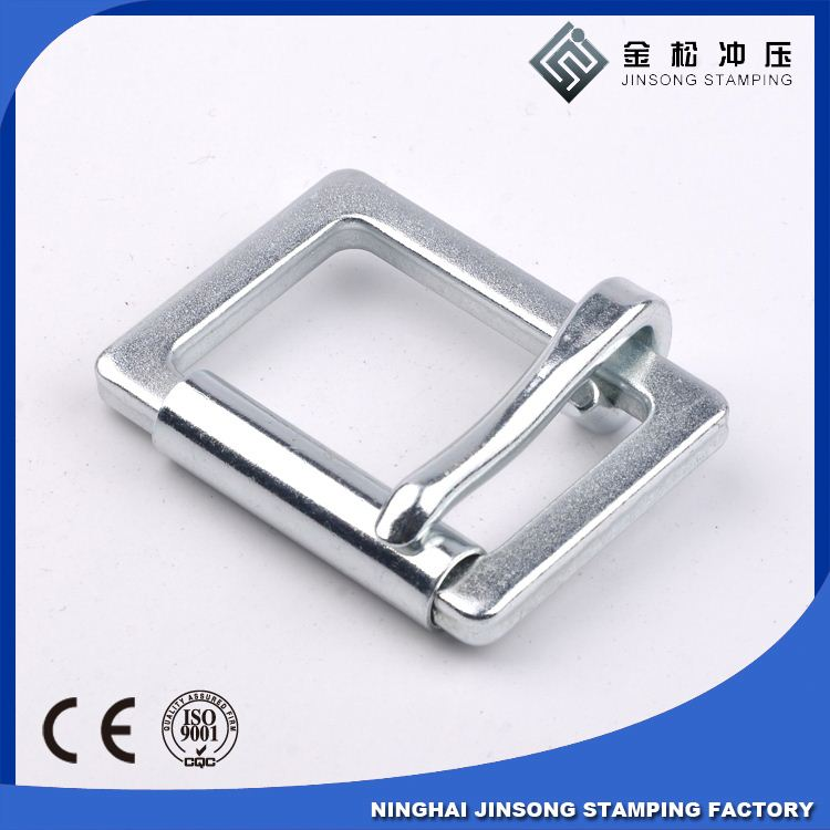 nice quality fashion metal pin buckle for handbag in guangzhou city