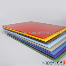 China 6mm thick Stained paint glass on sale