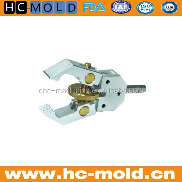 small cnc machining aluminum fixture parts/cnc metal molds part mould fixture parts