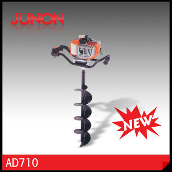 New style gasoline hand earth drill 71cc with CE