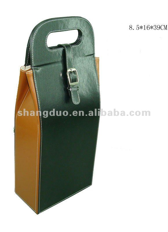 Hotel Leather Single Wine Box For Gifts Packing