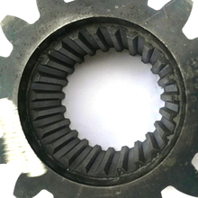 MMS high quality coupling parts with spline gears stub tooth gear