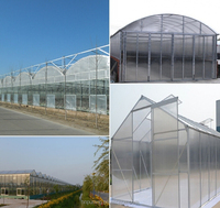 polycarbonate material sheet pc used commercial greenhouses/garden greenhouse