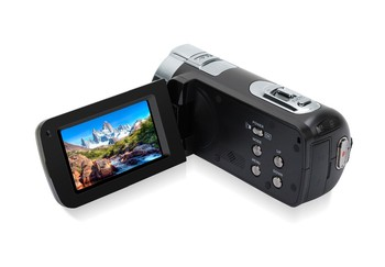 HOT 1080P HD 24MP 2.7 TFT LCD Display DV Camera Black HDV-312P