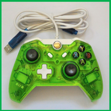 Wired transparent gamepad for Xbox One controller