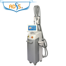 20MHZ RF roller + Vacuum + cavitation + 635nm diode laser slimming body machine
