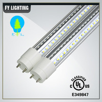 LED Waterproof T8 LED DLC UL approved 240 Degree IP65 240 degree 5 year warranty