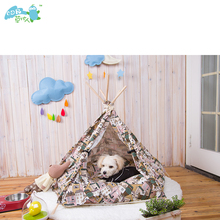 Chinese international vintage pet teepee tent bed uk for cat