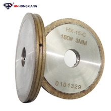 metal bonded abrasive sharpening arc diamond grinding wheel for glass